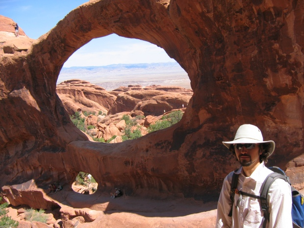 The Double O arch