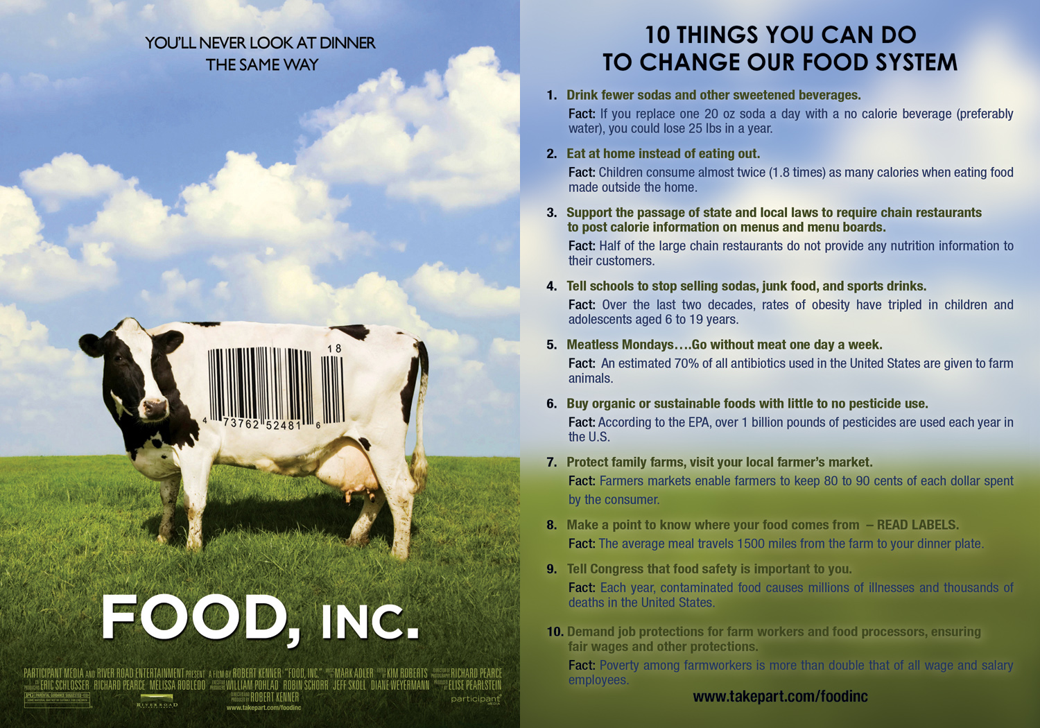 In which I encourage you to watch t.v. – Her Green Life With Regard To Food Inc Movie Worksheet Answers