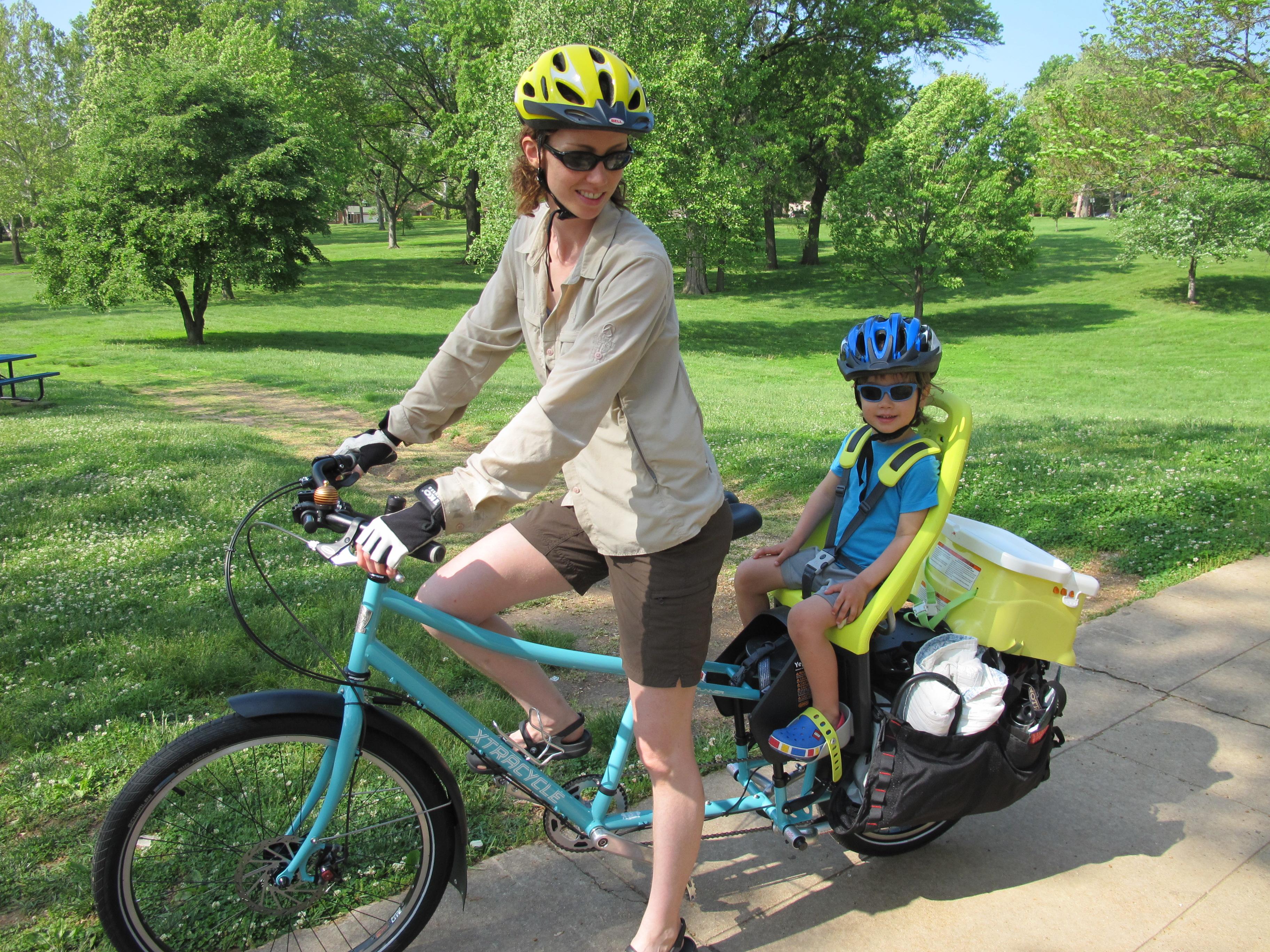 Самодельное сиденье на велосипед для ребенка фото